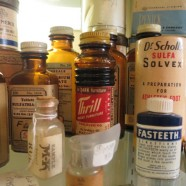 assorted vintage and antique medicine boxes and bottles – $2 – $3 (Lincoln Antique Mall)