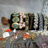 large selection of vintage jewelry