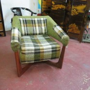SALE!! vintage mid century modern Adrian Pearsall lounge chair – $395