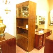 SALE! Vintage mid-century modern Henredon display cabinet – now $295, was $595
