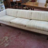 SALE!! Vintage mid-century modern Danish style sofa – $495