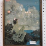 Vintage Maxfield Parrish framed orig. print – $225