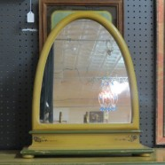 Vintage Antique Shabby-Chic hand painted Mirror – $95