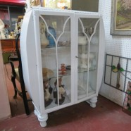 SALE! Vintage antique Deco Cabinet / Vitrine showcase – $300