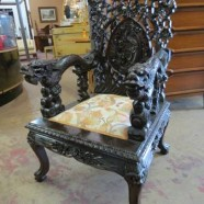 Vintage antique Victorian Chinese chair – $1500