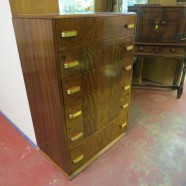 Vintage antique Art Deco chest of drawers – $450