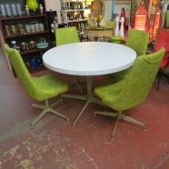 Vintage mid-century modern dinette set -now $295, was $395