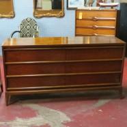Vintage mid century modern Lane 6 drawer credenza/dresser-$695