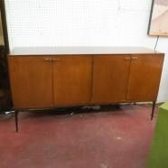 Vintage mid-century modern Heywood Wakefield birch credenza-$695