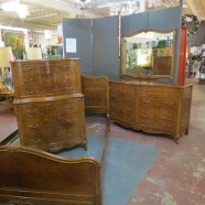 vintage antique French style bedroom set – $1595