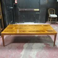 Vintage Danish modern rosewood coffee table – $395