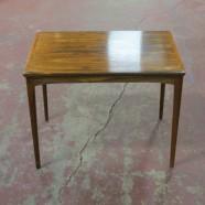 Vintage Danish modern rosewood side table – $125