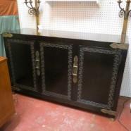 Vintage mid-century modern century ebonized credenza -$530