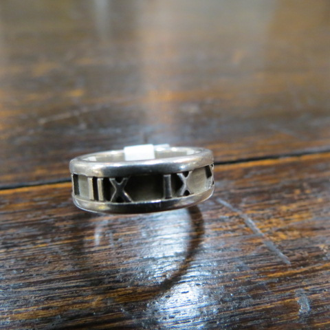authentic Tiffany sterling silver ring – $100