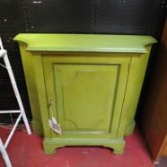 vintage antique Baker painted console cabinet c. 1970 – $150