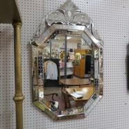 Vintage Venetian glass mirror – $995