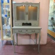 Vintage antique painted secretary desk c. 1940 – $295