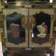 Vintage antique small Chinese cabinet c. 1940 – $250