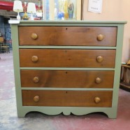 Vintage antique painted dresser c. 1930 – $195