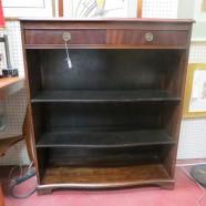 Vintage antique mahogany bookcase c. 1940 – $225