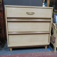 Sale! Now $115, originally $195. Vintage mid century modern Kroehler 3 drawer chest – $115