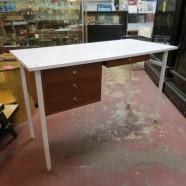Vintage mid century modern desk – $395