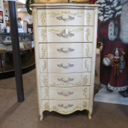 Vintage antique French style lingerie chest – $395