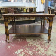 Vintage antique Oriental coffee table – $135