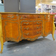 Vintage antique Romweber French style credenza/dresser/buffet – $895