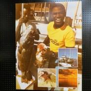 SALE! Vintage large format fisherman photo by Ron Nielsen – $95