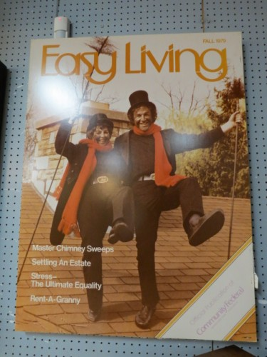 SALE!  Vintage large format Easy Living Magazine Chimney Sweeps Photo – $150