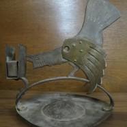 SALE! Vintage antique Goberg cigar cutter and match holder c. 1910 – $368