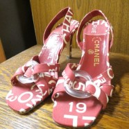 Vintage pair of Chanel sandals – $175