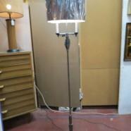Vintage antique art deco wrought iron floor lamp c. 1920 – $225