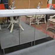 SALE! Ikea sink cabinet with faucet – $495