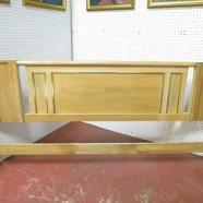 SALE! Vintage mid century modern American of Martinsville king size headboard – $100