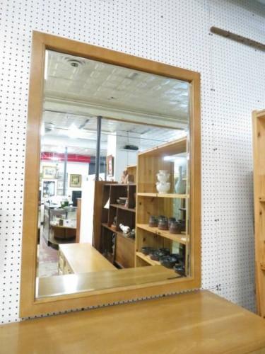 SALE! Vintage mid century modern American of Martinsville Mirror – $100