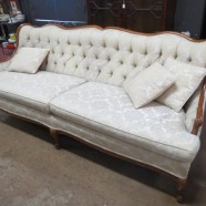 SALE!  Vintage antique Louis XV style French sofa – $350