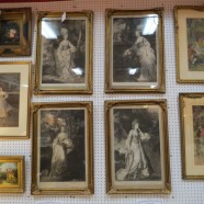 Vintage antique set of 4 English 18th century etchings – $1600 for set
