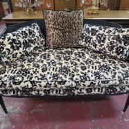 Vintage antique French Louis XVI style settee/loveseat – $425