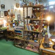Vintage mid-century modern 5 shelf etagere – $95
