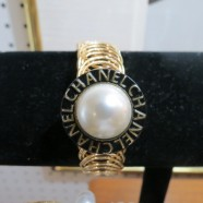 Vintage Chanel button bracelet – $100