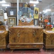 Vintage antique French Art Deco 3pc. Bedroom set – $1595 set