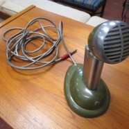 Vintage antique Shure Bros. microphone – $150
