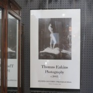 Vintage poster of an exhibition of Thomas Eakins nudes – $65