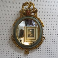 Vintage French Style Gilded Mirror – $275