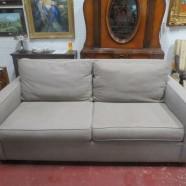 Vintage mid-century modern style West Elm sofa – $495