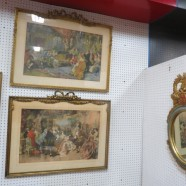 Vintage Antique 18th Century Pair of French Lithographs – $750