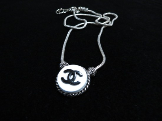 Vintage Chanel Button Necklace – $90
