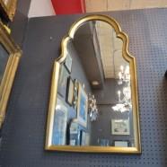 Vintage Mid-Century Modern Gold Gilt Louis Phillipe Style Mirror – $295